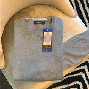 NWT Men's Large Blue Nautica Sweater